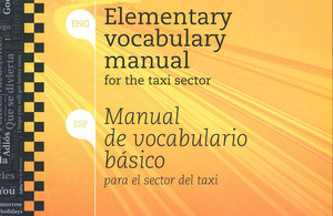 Manual de vocabulari bàsic per al sector del taxi
