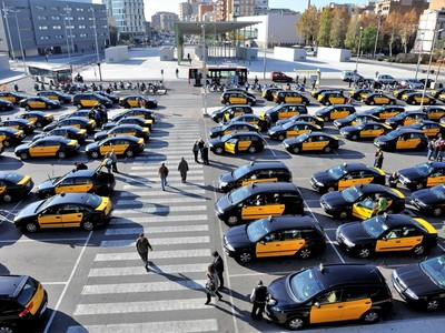Foto taxis recurs
